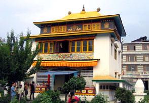 Buddhist Gompa in manali